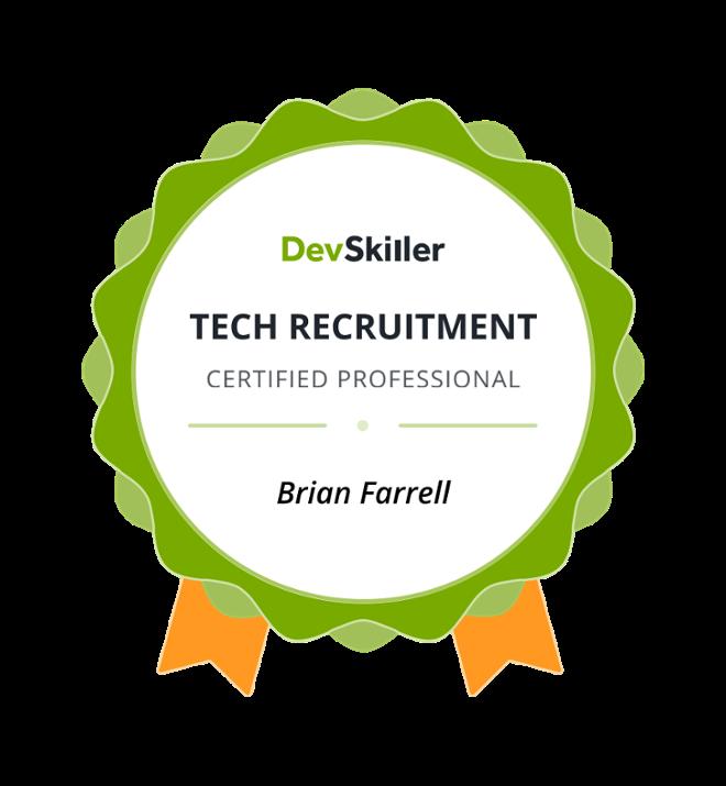 Dev Skiller Certified Tech Recruitment Professional